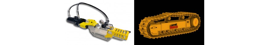 BERCO TRACK PRESS AND UNDERCARRIAGE REPAIR TOOLS