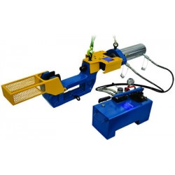 Hems 100 Ton Portable hydraulic Track press / Pin pusher