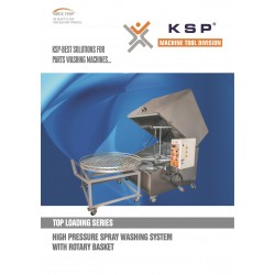 HIGH PRESSURE SPRAY WASHERS-TOP LOADING SERIES